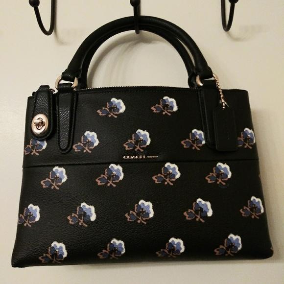 63872faf50b Coach Bags | Blue Bramble Rose Purse Umbrella | Poshmark